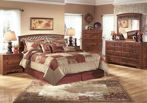 Signature Design By Ashley Timberline Bedroom SetB258 31, 36, 39, 46, 55, 92