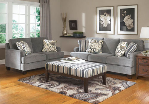 Ashley Yvette Sofa   Loveseat. Rent to Own Furniture  Rent to Own Appliances  Rent to Own