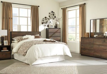 Signature design by ashley colortyme for Ashley wilkes bedroom collection