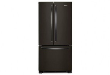whirlpool_22 cu ft french door black ss_wrf532smhv