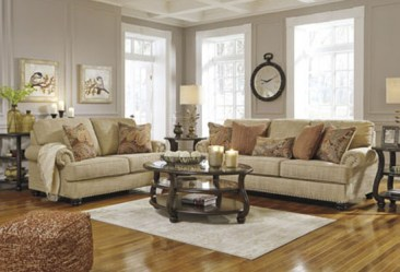 ashley_candoro sofa loveseat_11806