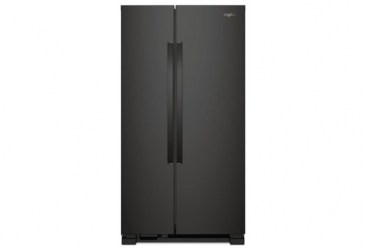 whirlpool_22 cu ft side by side refrigerator_wrs312snhb